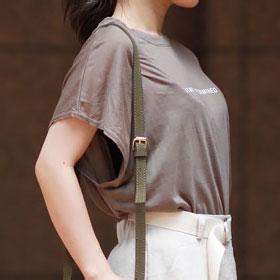 【★mina5月号掲載+テンセルロゴTシャツ(全4色)[237C]
