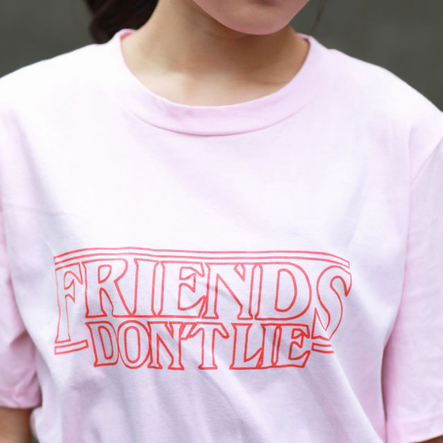 FRIEND DON'T LIE ロゴTシャツ(全3色)[242C]