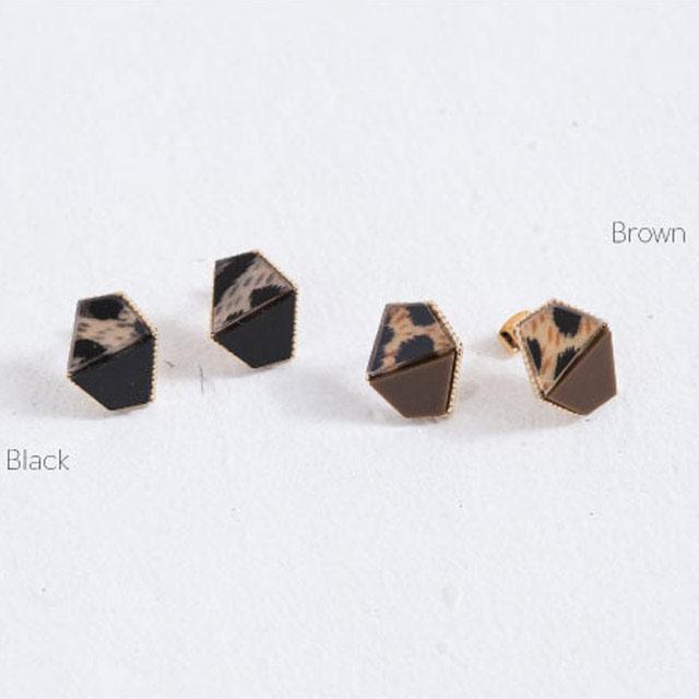 <CLEARANCE SALE>leopard pattern square piasu[250J]