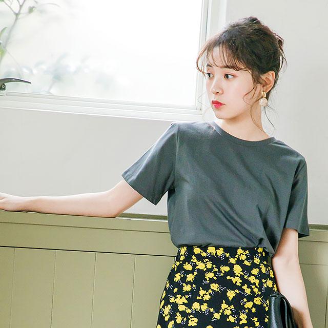 シンプルTシャツ(全5色)[254C]