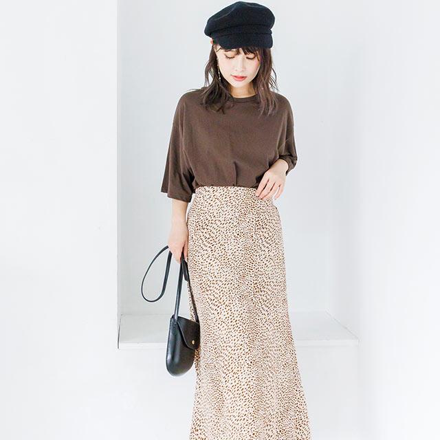 leopard skirt[2596M]