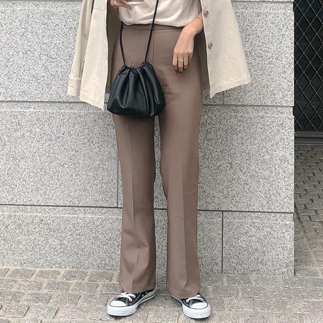 stretch slacks pants[2657M]