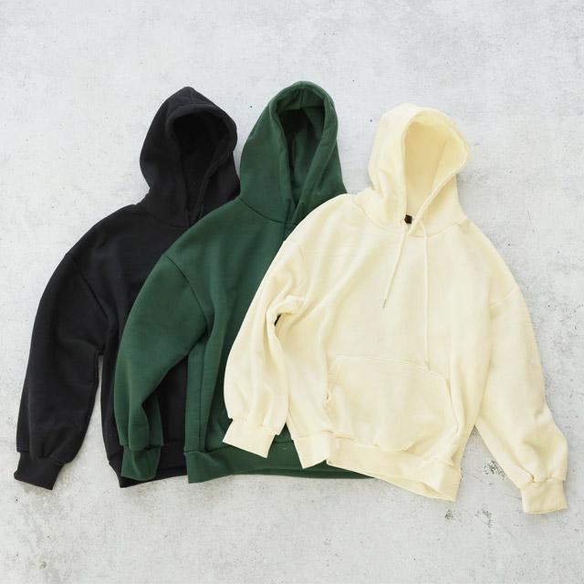 裏起毛ベーシックパーカー(全3色)[2691C]