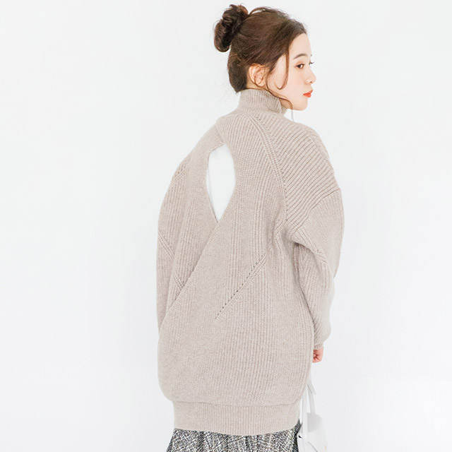 back open knit[2711C]