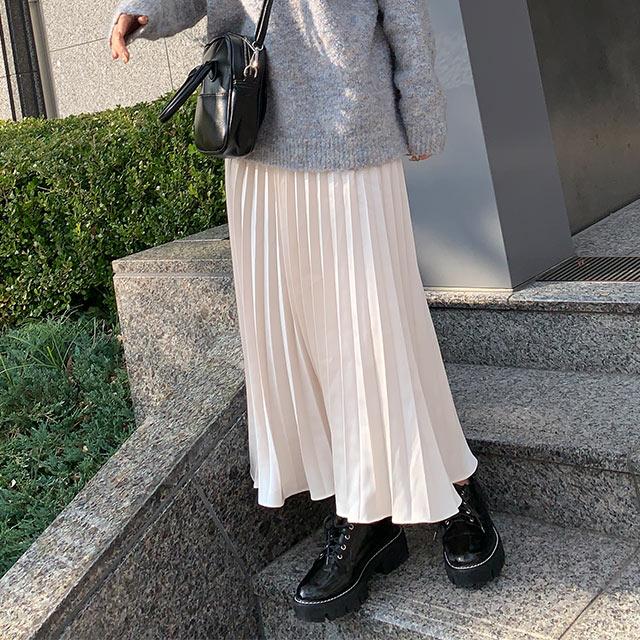 グロッシープリーツスカート[2740M]