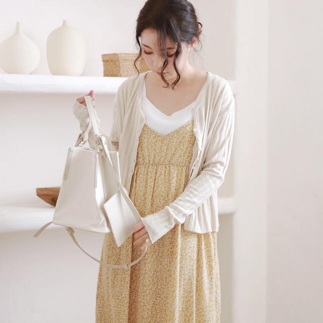 【2/23(tue)19:00〜】flower camisole onepiece[2753E]