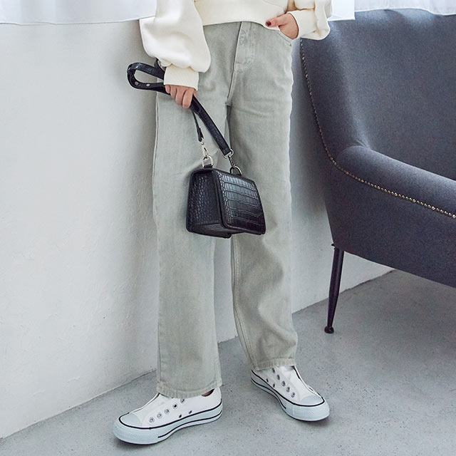 <Spring Sale>grayish color pants[2768M]