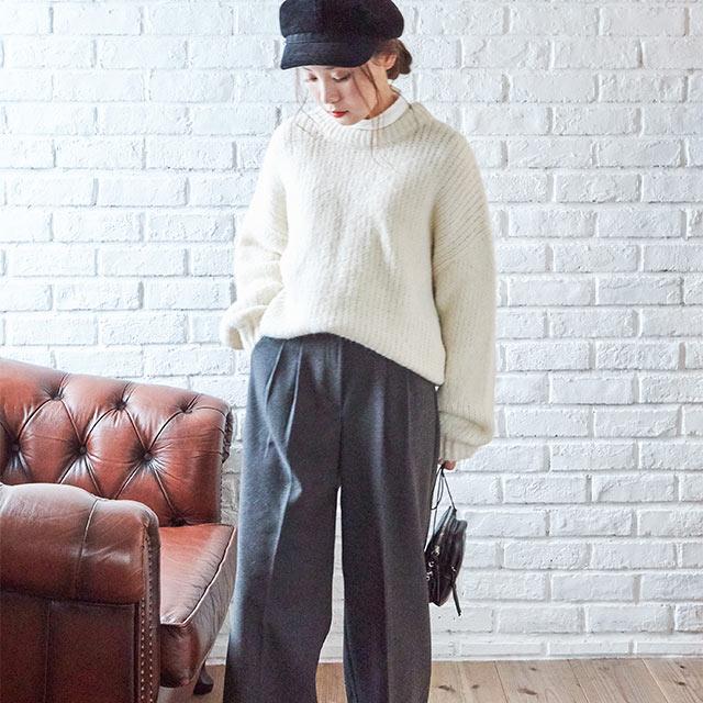 winter color pants[2772M]