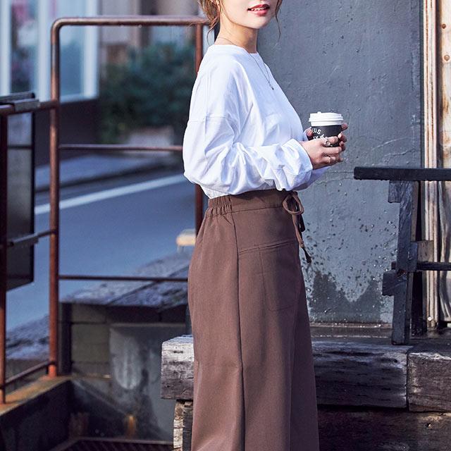 waist string skirt[2781M]