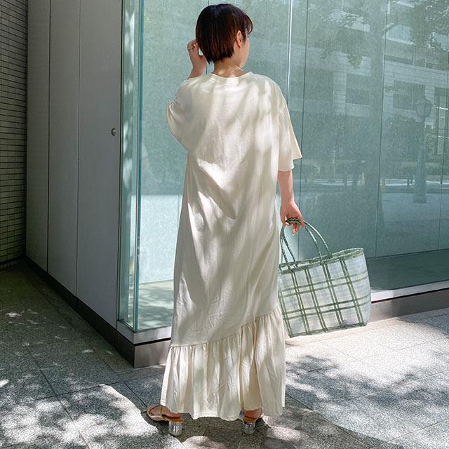 【5/16(sun)19:00〜】カット裾フレアワンピース[2782E]