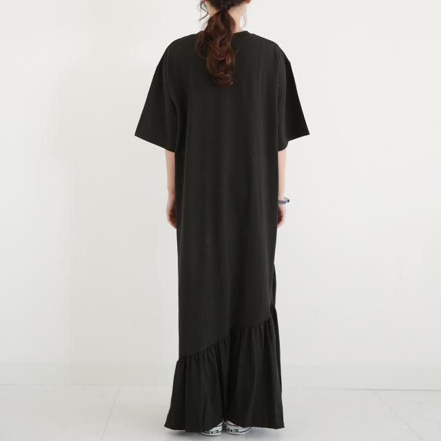 カット裾フレアワンピース[2782E]