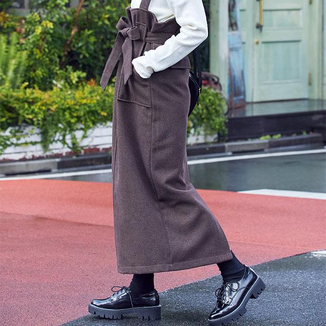 jumper skirt[2830M]