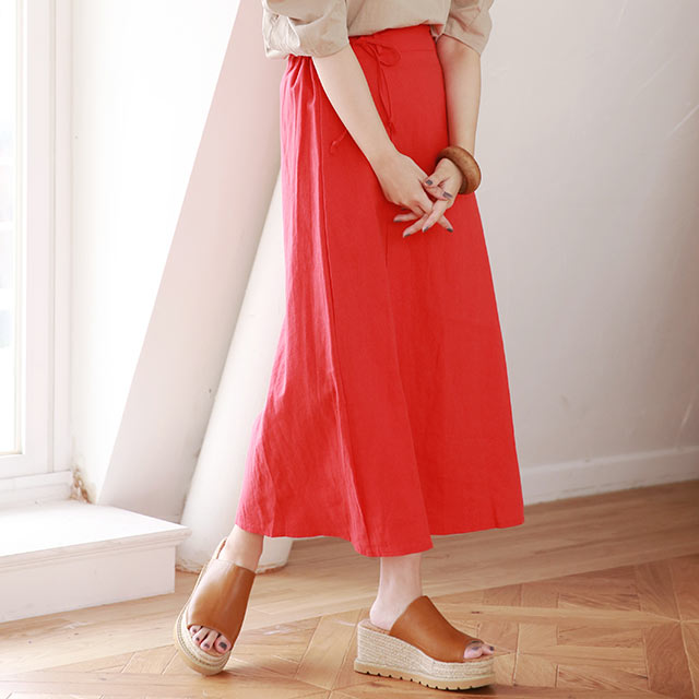 【7/8(wed)19:00〜】flared color skirt[2936M]