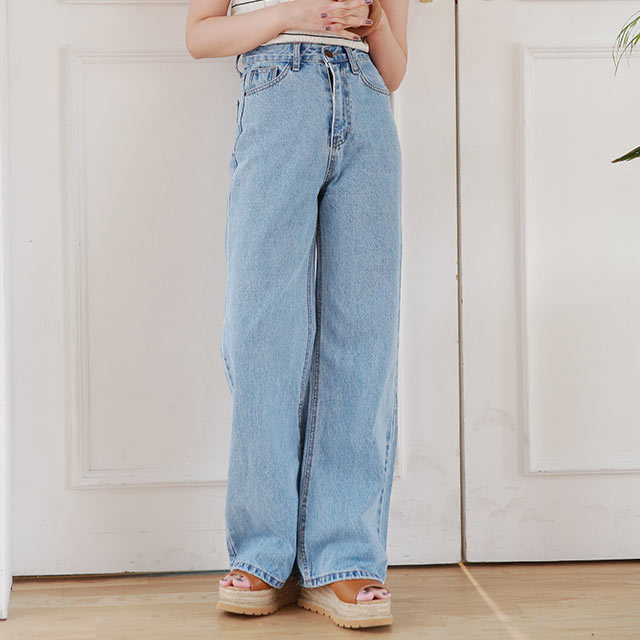 【9/20(sun)19:00〜】high waist wide denim2[2939M]