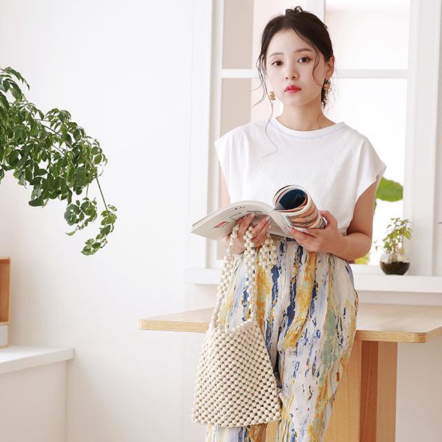 【8/23(sun)19:00〜】tie dye print pants[2949M]