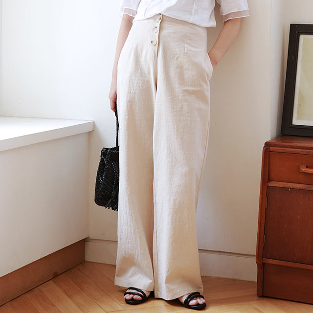 【7/2(thu)19:00〜】front button point pants[2971M]
