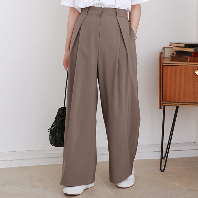 tuck point pants[2975M]