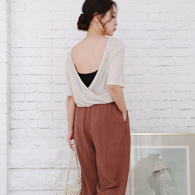 relax wide pants[2978M]