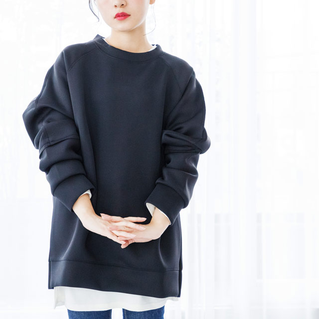 big silhouette sweat tops[2993C]