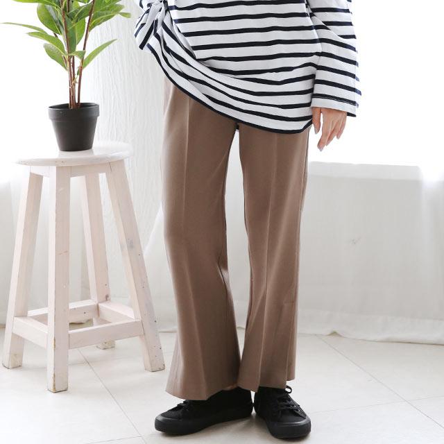 slit colore pants[3052M]