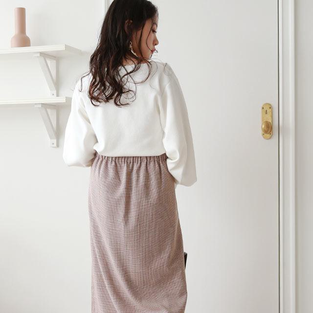 front design skirt[3085M]