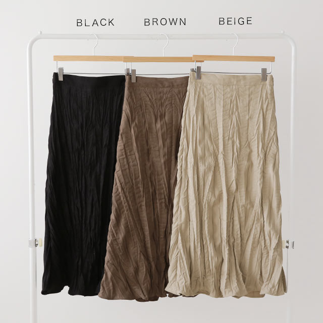 washer flare skirt[3136M]