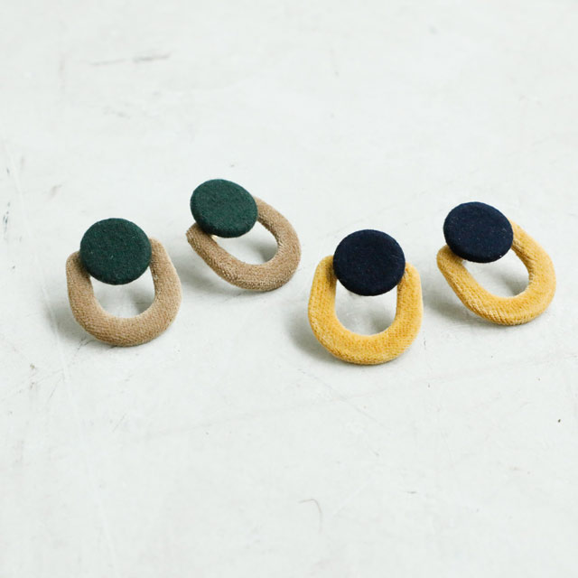 <Spring Sale>bicolor earrings[321J]