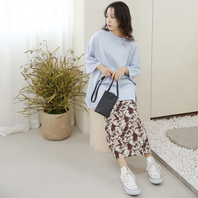tie-dye pattern skirt[3224M]