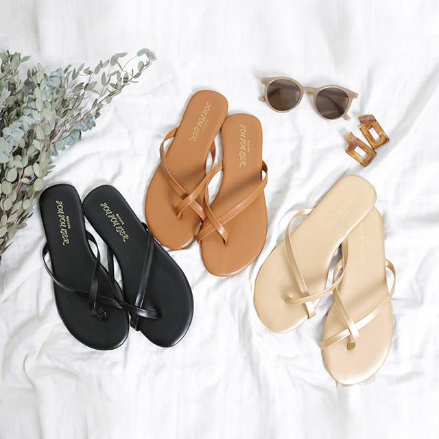 cross tong sandals[328i]