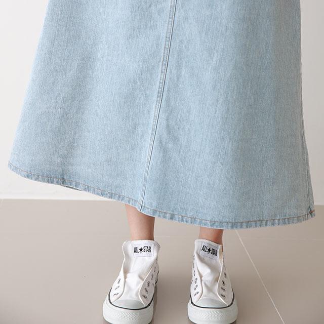 デニム切替スカート[3316M]
