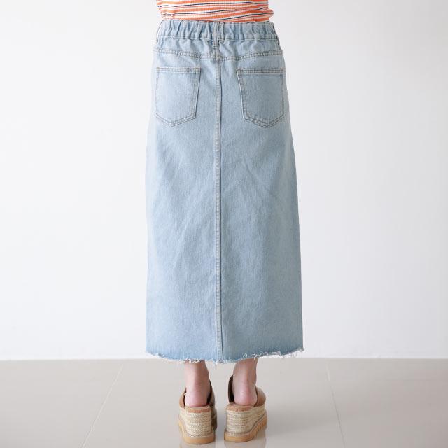 デニムタイトスカート[3350M]