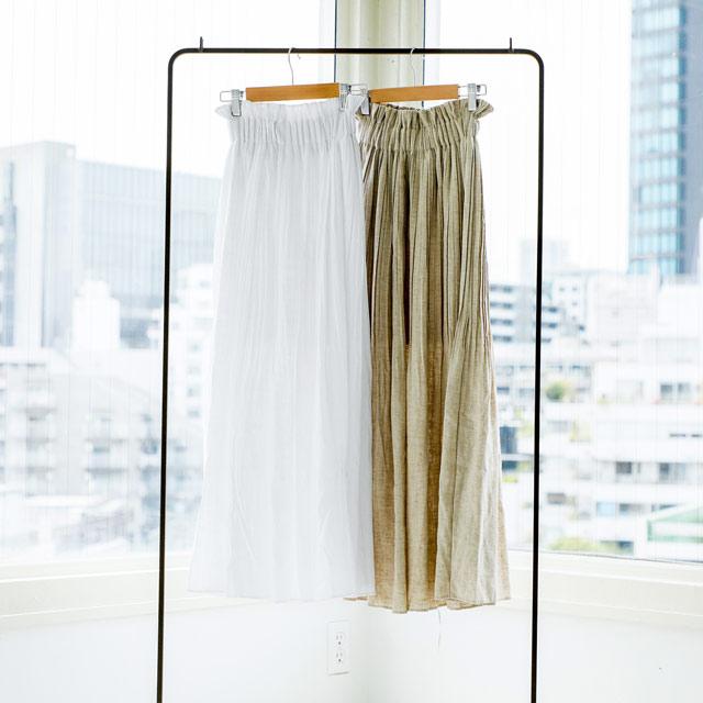 エストプリーツマキシスカート(全2色)[360M]