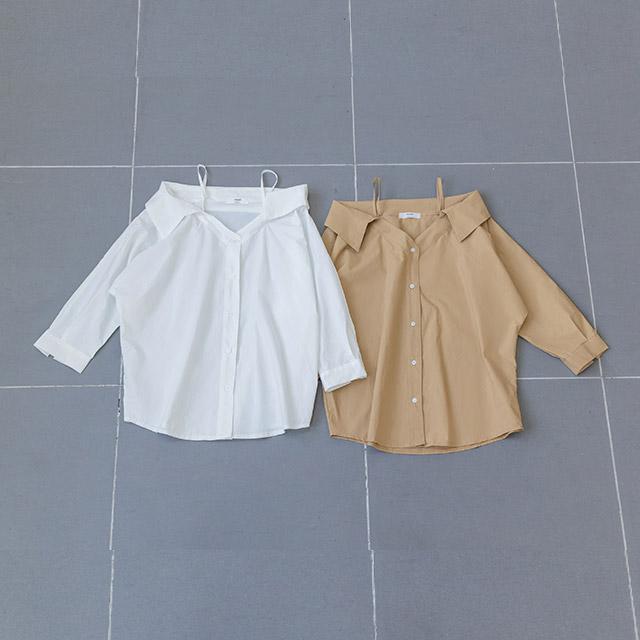 off-shoes design shirt[3709C]
