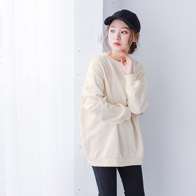 <CLEARANCE SALE>smoky color sweat [3713C]