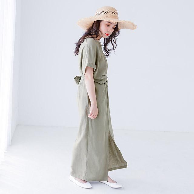 waist mark dress[394E]