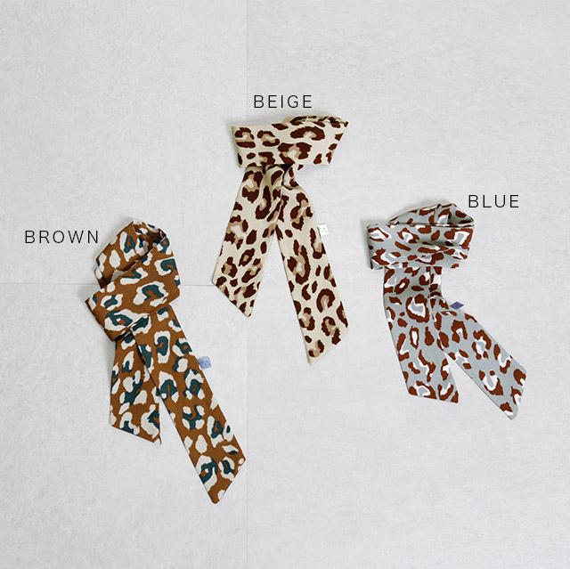 <Summer Sale!!>leopard twisty[396J]