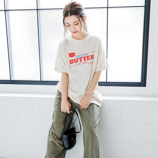 BUTTER Tシャツ(全2色)[4003C]
