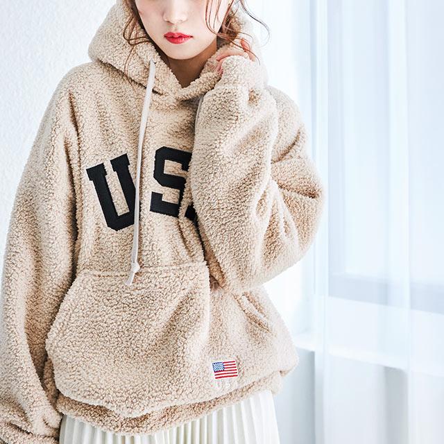 USA boa hoody[4307C]
