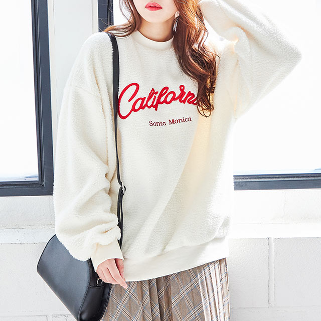 logo boa sweat shirt[4310C]