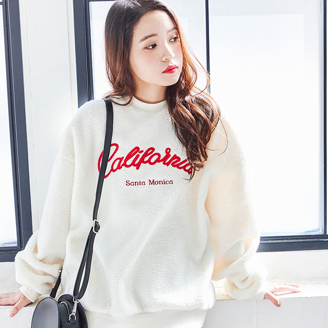 <FINAL SALE>logo boa sweat shirt[4310C]