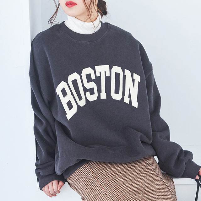 BOSTON logo sweat[4350C]