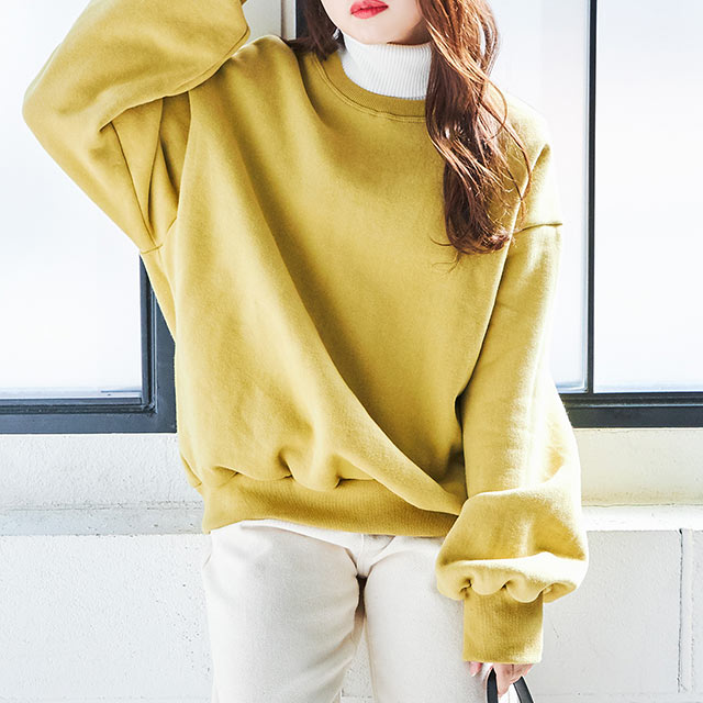weekly pullover[4354C]