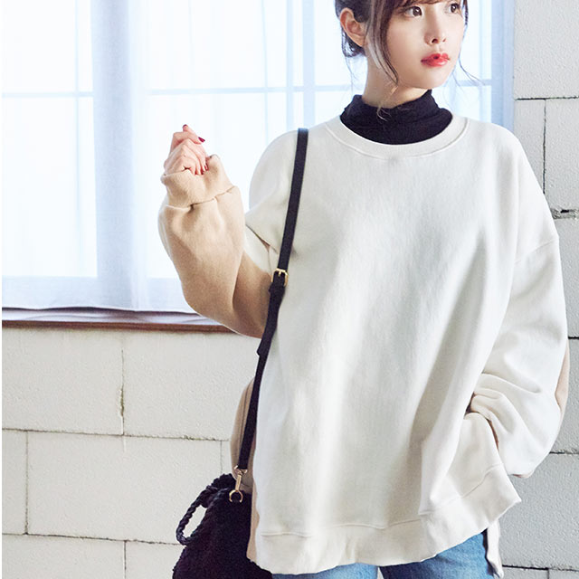 by color sweat shirt[4396C]