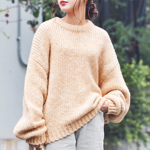 color loose knit[4399C]