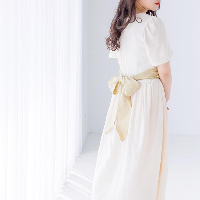 ≪村田倫子select≫ビスチェレイヤードワンピース(全1色)[439E]