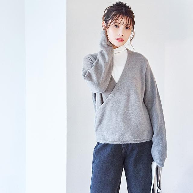 crossover knit[4506C]