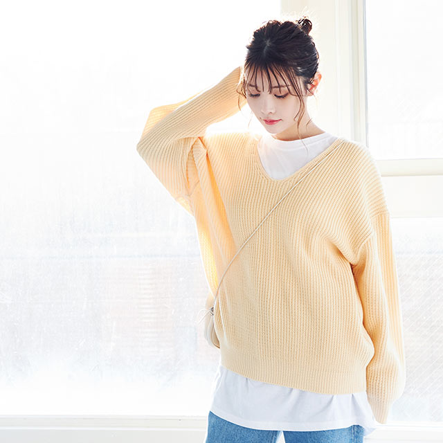 button point knit[4509C]