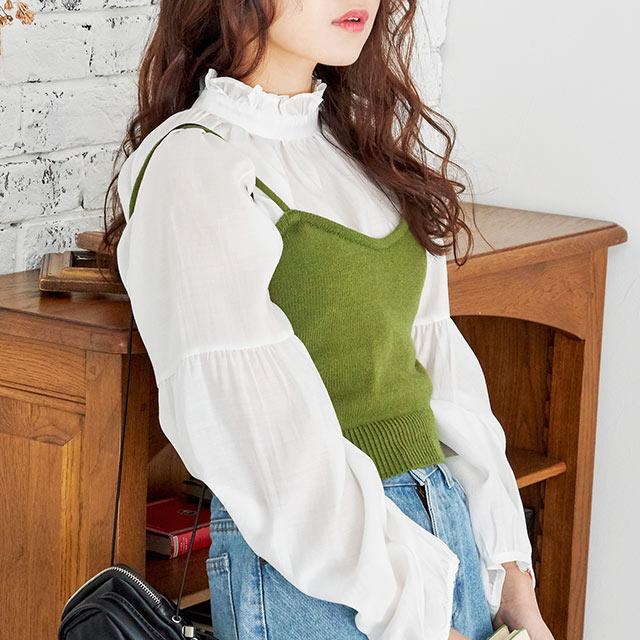 knit camisole[4514C]