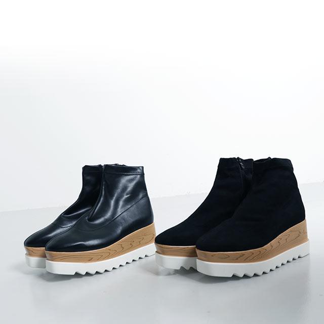 <CLEARANCE SALE>platform boots[454I]