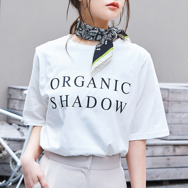 shadow logo t-shirt[4559C]